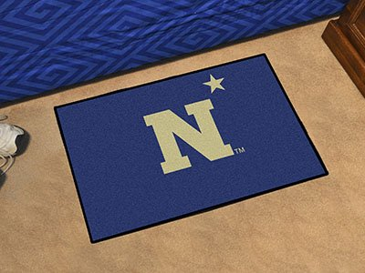Fanmats Home Indoor Sports Team Logo US Naval Academy Starter Rug 20
