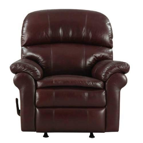 at Home Designs Sonoma Top Grain Leather Recliner