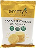 Emmy's Organics Coconut Cookies, Radiant Golden-Milk, 2 oz (Pack of 12) Review