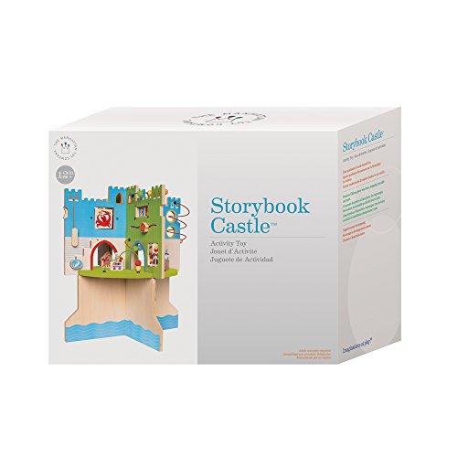 41eiWJUCggL - Manhattan Toy Storybook Castle Wooden Toddler Activity Center