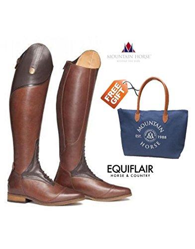 Mountain Bottes nbsp; haute Taille Chaussures Sovereign pour de Horse femme Marron Rider veau wr7IwY