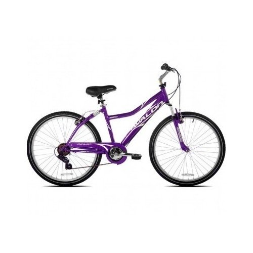 "26"" Next, Avalon, Comfort Bike, Full Suspension, Women's Bike, (Purple, 26"")"