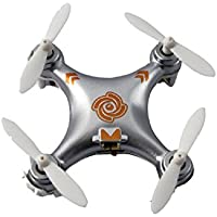 UUMART Cheerson CX-10A Mini Headless Mode 2.4G 4CH 6 Axis RC Quadcopter(Silver)