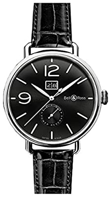 Bell & Ross Ww1 Automatic Mens Watch Brww1-90-Grande-Date-Reserve-De-Marche