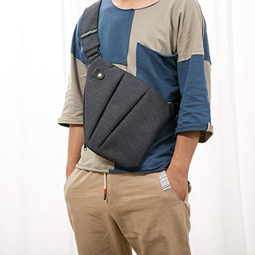CactusAngui - Bolso bandolera para hombre, ajustable, estilo casual, Multicolor, Talla única
