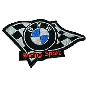 BMW Racing Team Patch (Su002) Logo para secar la ropa, chaqueta, camisa, casquillo bordado hierro en parche, se vende por r.m.a.