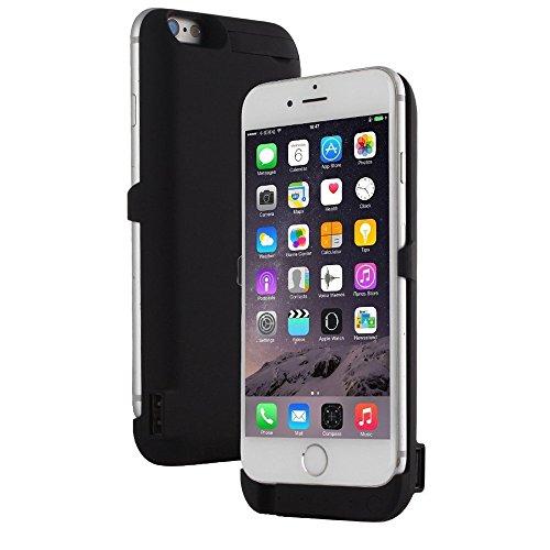 Indigi 10000mAh PowerCase BLACK Rechargeable Battery Case iPhone 6 Plus/6S Plus