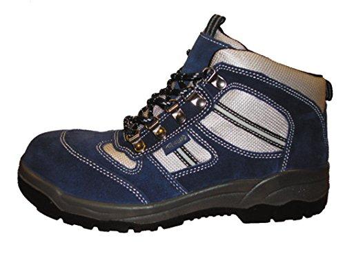 Toe Guard , Chaussures de sécurité pour homme multicouleur Blue/Grey