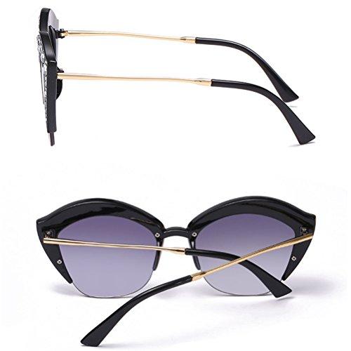 8151772b46 Zhhlinyuan Classic Ladies Eyeglass Frame UV Protection Gafas de Sol  Sunglasses Designer Calidad for Women Cat