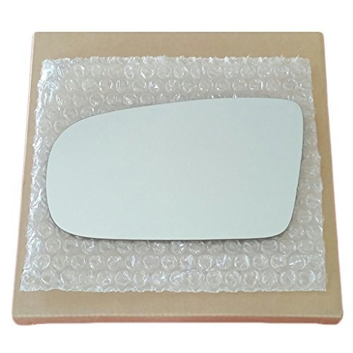 Mirror Glass and Adhesive 1995-2005 Chevy Cavalier or Pontiac Sunfire Driver Left Side (Pontiac Sunfire Driver)