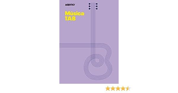 Additio Tab - Cuaderno de música para guitarra, color lila: BLOCK MUSICAL: Amazon.es: Oficina y papelería