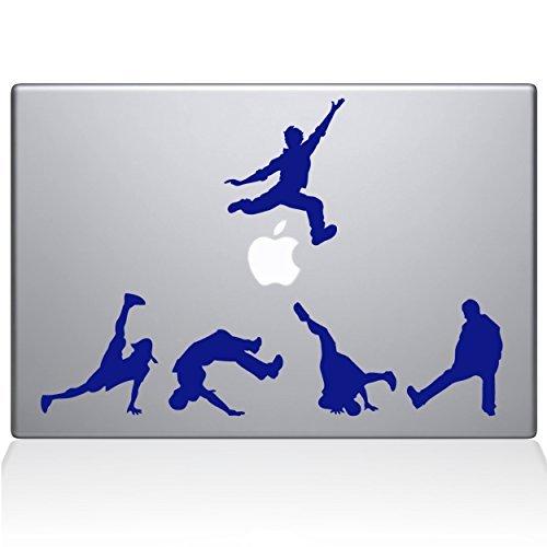【初売り】 The Decal newer) Guru 1028-MAC-13X-DB Break Dancer Silhouettes Break Vinyl Macbook Sticker 13 Macbook Pro (2016 & newer) Blue [並行輸入品] B078FBRM3B, CROWN STORE:b75ee9f1 --- a0267596.xsph.ru
