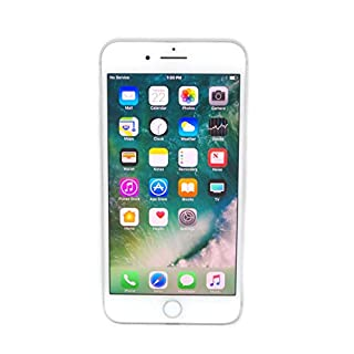 Apple iPhone 7 Plus, 256GB, Silver - For AT&T (Renewed)