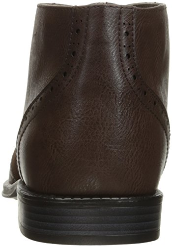 swiss Wing Boots Brown Ankle Brogue Twotone Shoes Mens Lace Dress Up alpine Geneva Tip RwdBRq