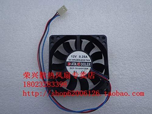 New 7CM DCF-7015HH12SA 7015 12V 0.25A 70 70 15MMCPU fan small chassis cooling fan