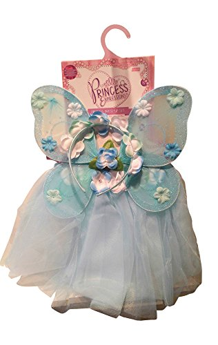 Creative Halloween Costumes For The Office (Princess Expressions Creative Dress Fairy Princess Costume Sets (Blue Floral Fairy))