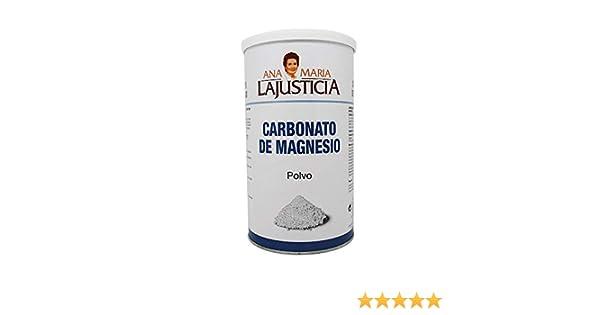 Amazon.com: ANA MARIA LAJUSTICIA CARBONATO MAGNESIO 180gr: Health & Personal Care