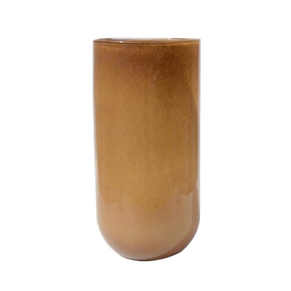 手吹きガラス花瓶現代のミニマリストスタイル大床ガラス花瓶装飾家の装飾 (Color : B) B07SBZP8FR B