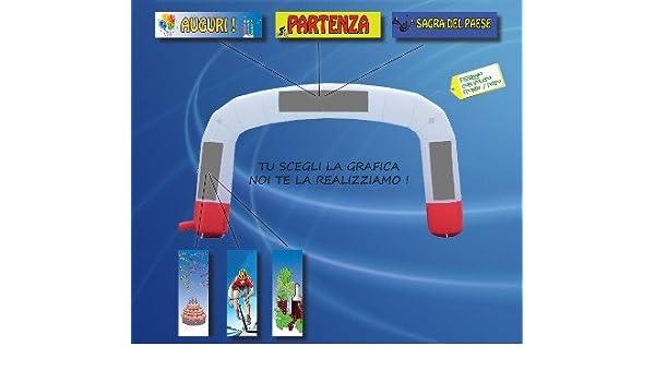 Arco inflable Personalizable Sin Banner_1410: Amazon.es: Oficina y ...