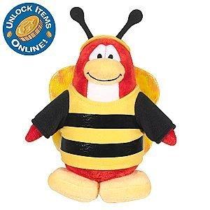 [해외]Club Penguin 6 12`` Limited Edition Penguin Plush - Bumble Bee / Club Penguin 6 12`` Limited Edition Penguin Plush - Bumble Bee