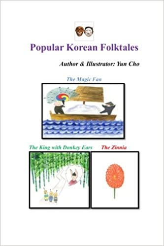 Popular Korean Folk Tales Children Teen English Book Yun Cho
