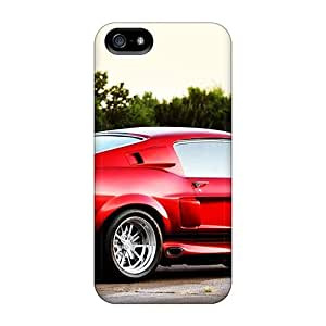 Hard Plastic Iphone 5/5s Case Back Cover,hot 1967 Ford Mustang Shelby Cobra Gt500 Case At Perfect Diy by icecream design