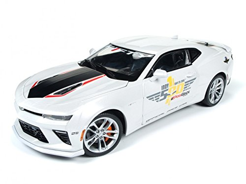 - Autoworld AW236 2017 Chevrolet Camaro SS Indy Pace Car 50th Anniversary Limited Edition to 1002pcs 1/18 Diecast Car Model