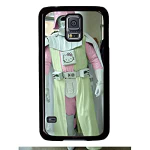 Samsung S5 case,popular Leather Samsung S5 Case for Samsung S5 with Darth Kitty