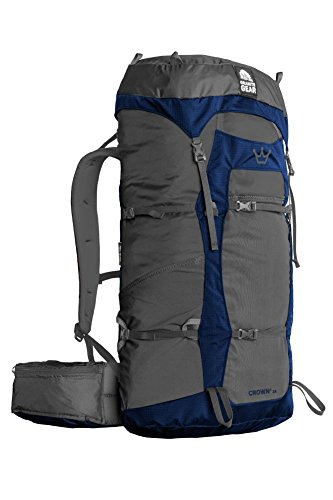 Granite Gear Crown2 38 Backpack - Flint/Midnight Blue Regular by Granite Gear