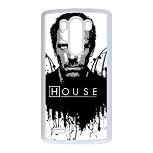 House LG G3 Cell Phone Case White Customize Toy zhm004-7425939