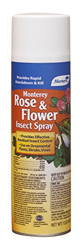 Monterey Lawn and Garden LG6196 Rose and Flower Insect Spray, 16-Ounce