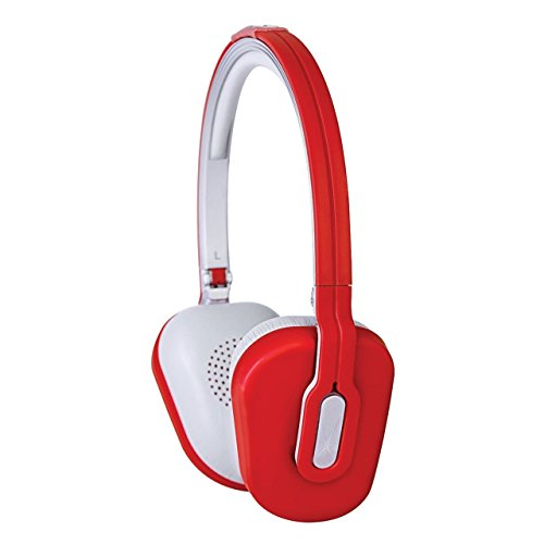 Womens Foldable Over The Head Headphones With Mic And Android Adapter
