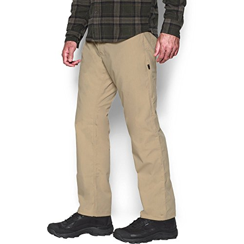 Under Armour Men's Storm Covert Tactical Pants, Enamel/Saddle, 36/30