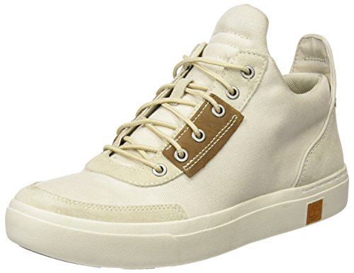 Chukkarainy Amherst Day Chukka Canvas Washed Women's Timberland Day Rainy Washed Boots Canvas Beige vqEw5Y