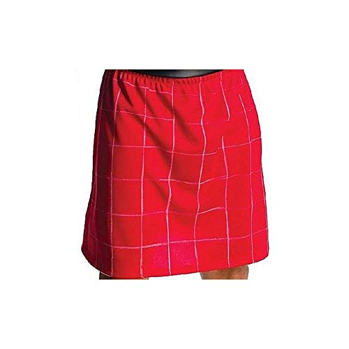 Red Wrestling Kilt Skirt -