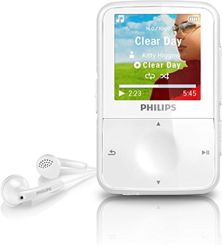 philips go gear vibe 4gb mp3 player white