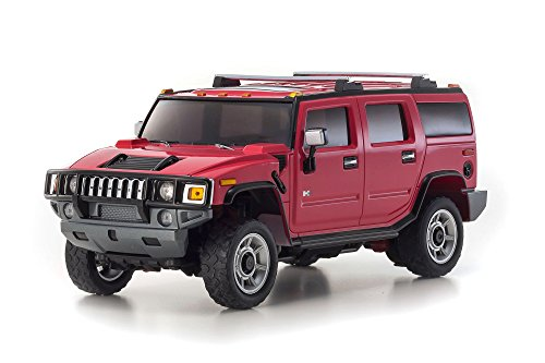Kyosho Mini-Z Overland Sports RC Hummer H2 Truck, Pink ()
