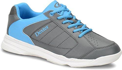 Dexter Ricky IV Bowling Schuhe für Einsteiger und Profis Größe 38-47 Weiß/Schwarz Grau/Blau