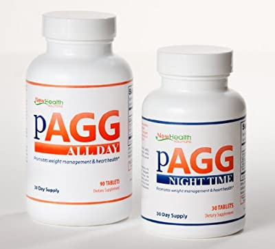 Official PAGG Stack Supplement System - One Month Supply as specified in 4 Hour Body by Tim Ferriss - Money back Guarantee