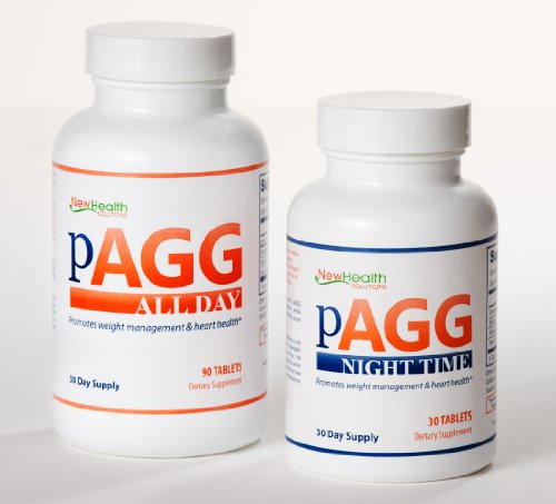Official PAGG Stack Supplement System - One Month Supply as specified in 4 Hour (Loss Stack)