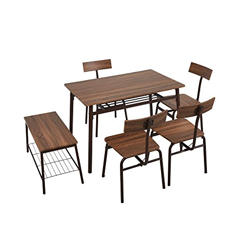 Dporticus 6-Piece Kitchen & Dining Room Sets -1