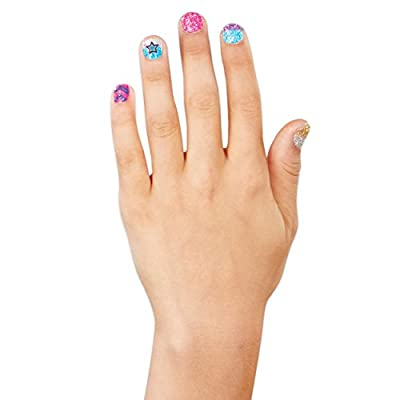 JoJo Siwa Glitter Nails - Glitter Manicure Kit with Custom Decals: Toys & Games