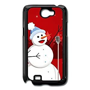 Galaxy Note 2 Cases Snowman Sing Design Hard Back Cover Shell Desgined By RRG2G