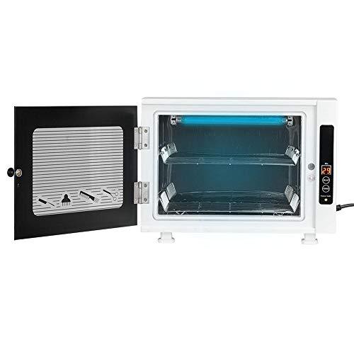 Professional UV Sterilizer, UV Sterilizer Disinfection Box Mini Disinfecting Cabinet for Nail Art Towel Scissors Beauty Salon Home Use (UK 220V)