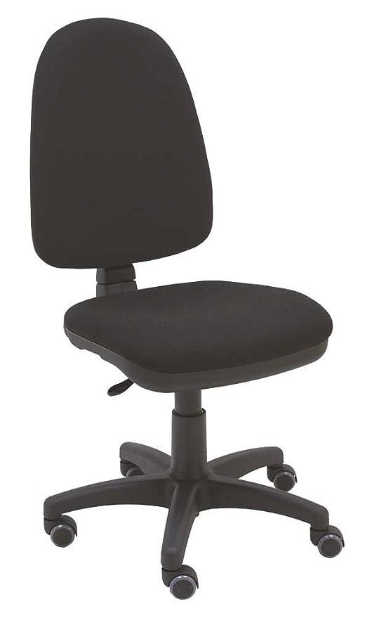 La Silla de Claudia - Silla giratoria de escritorio Torino negro para oficinas y hogares ergonómica