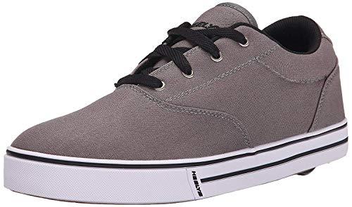 Heelys Men's Launch Fashion Sneaker, Grey, 12 M US (Best Male Fashion Websites)