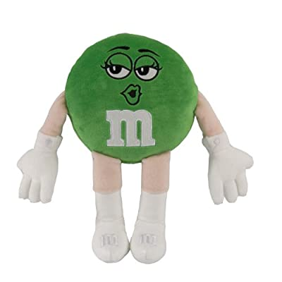 M&M Character Medium Plush, Green: Toys & Games