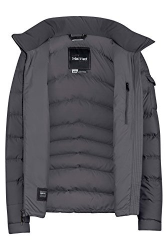 Marmot Down Coats - Marmot Ithaca Women's Down Puffer Jacket, Fill Power 700, Dark Steel ,Medium