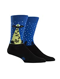 Sock It To Me Men's Christmas Crew Socks - The Alien Who Stole Christmas