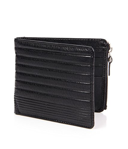 VERTIS LEATHER MENS WALLET-BLK